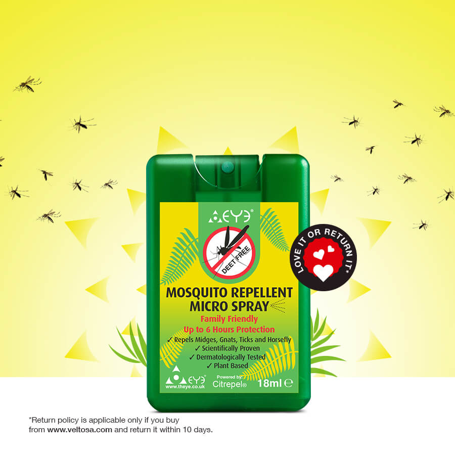 THEYE- Mosquito Repellent Micro Spray- 18ml